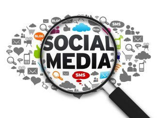 Social media for online communications, content-sharing and collaboration