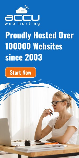 AccuWebHosting has proudly hosted over 100K websites.
